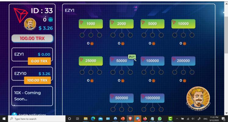 Ezytrx.com Fund First 5 Slots ID33 Screen shot 1
