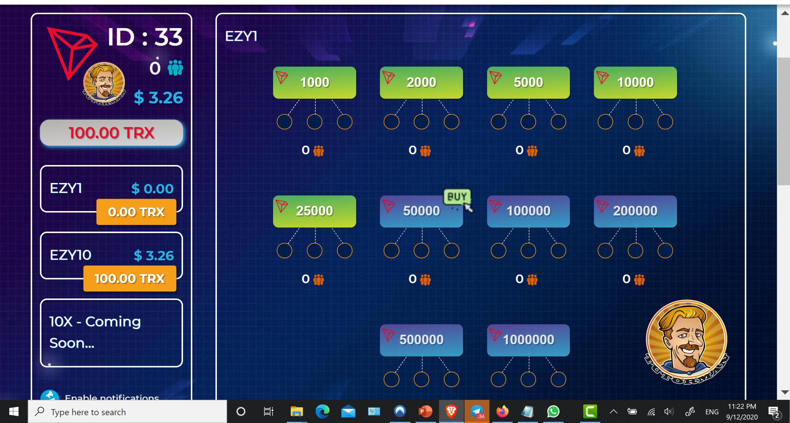 Ezytrx.com Fund First 5 Slots ID33 Screen shot 1 scaled
